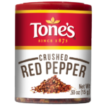 Tone's crushed red pepper spice is a primary ingredient in Bill's Rib Rub