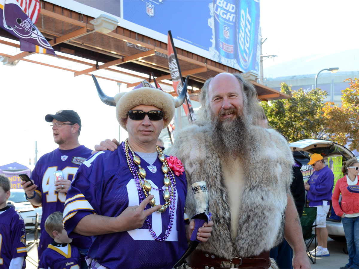 vikings tailgating at metrodome minnesota