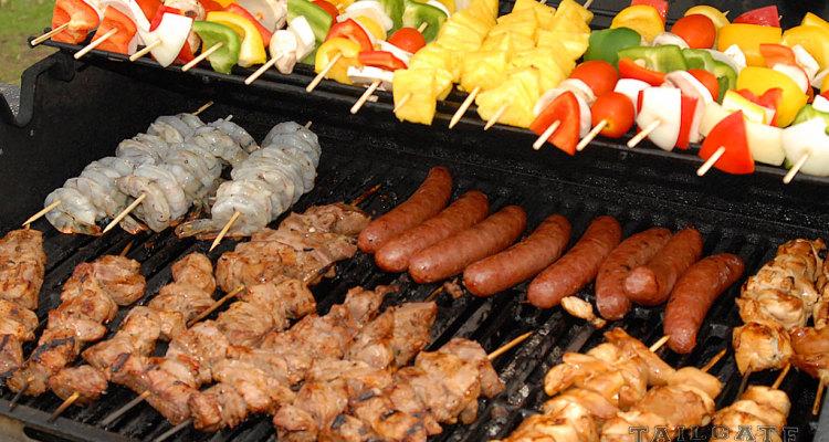 grilling kababs Kebab