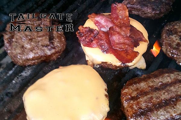 bacon bacon bacon steak burgers