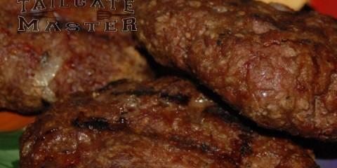 big ole batch of burgers