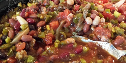 elk chili with sausage