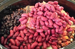 chili beans in the crock pot