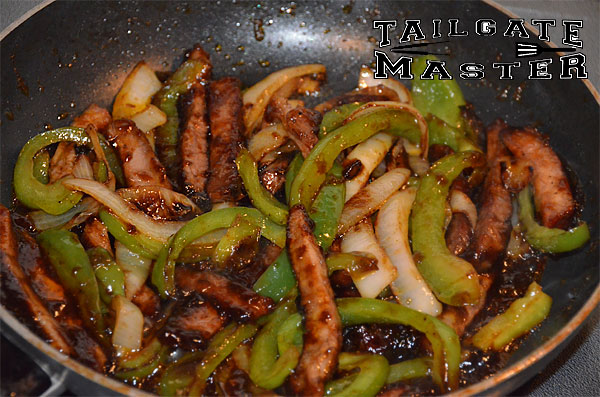 Grilled Steak Fajitas Directions