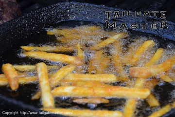 grilling fries