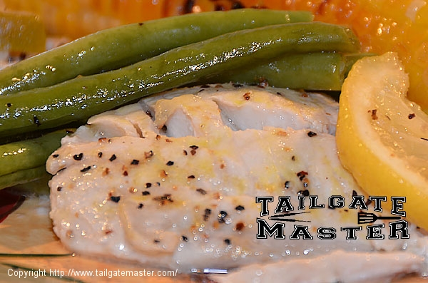 grilled fish at your tailgate