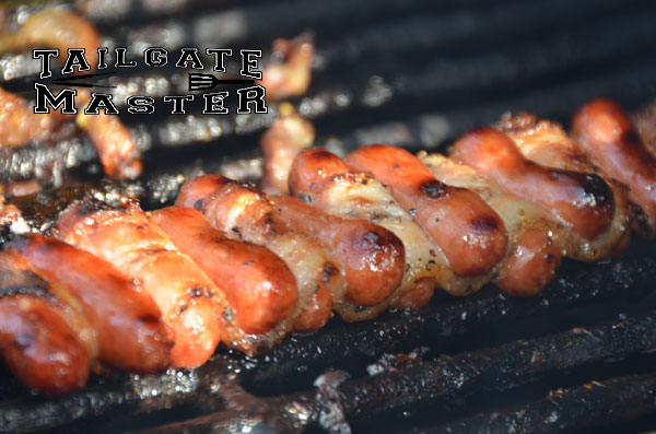 Bacon Smokie Kabobs Directions