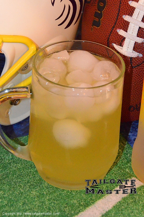 mango rum tailgating drink