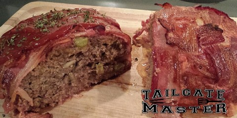 Pecan Wood Smoked Bacon Wrapped Meatloaf