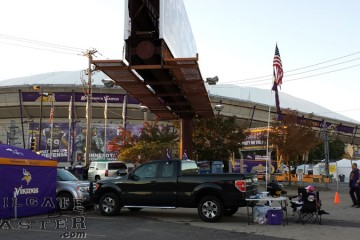Tailgating at the Metrodome