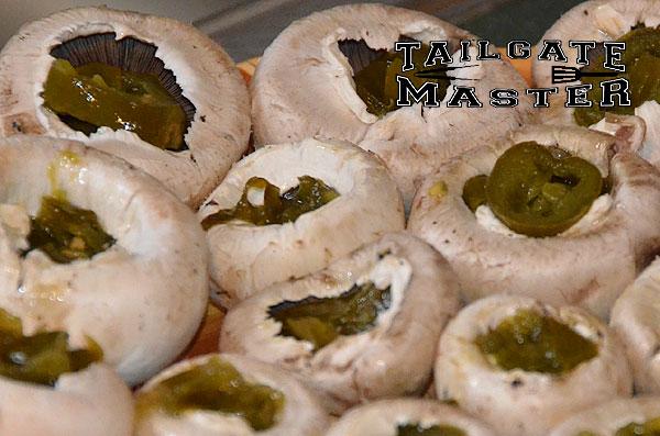 mushrooms with jalapeños in them