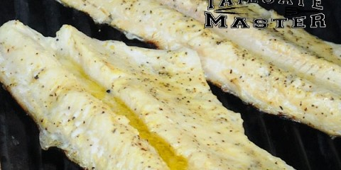 Grilled Northern Pike Fillets