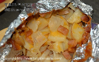 ham cheese and taters