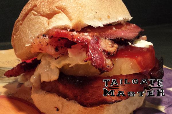 Pro Bowl Pork Loin Sandwich