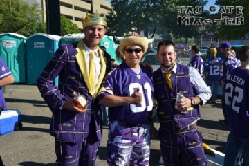 Tailgating before the game
