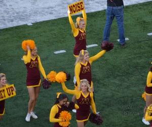 U of M Gophers Cheerleaders