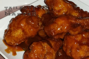 bbq wing are awesome