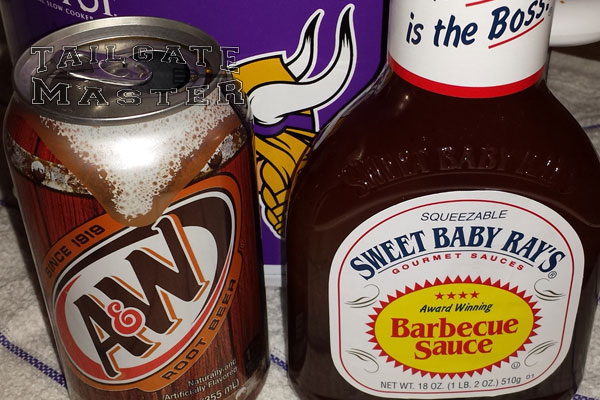 root beer bbq sauce and wings
