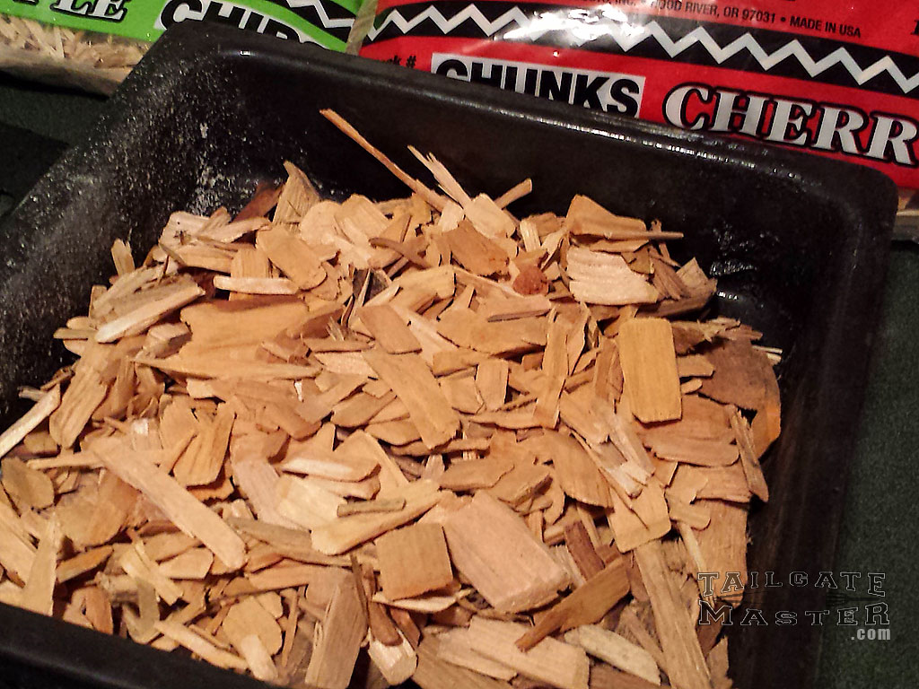 one of the best woods to use it cherry and alder wood for the smoker
