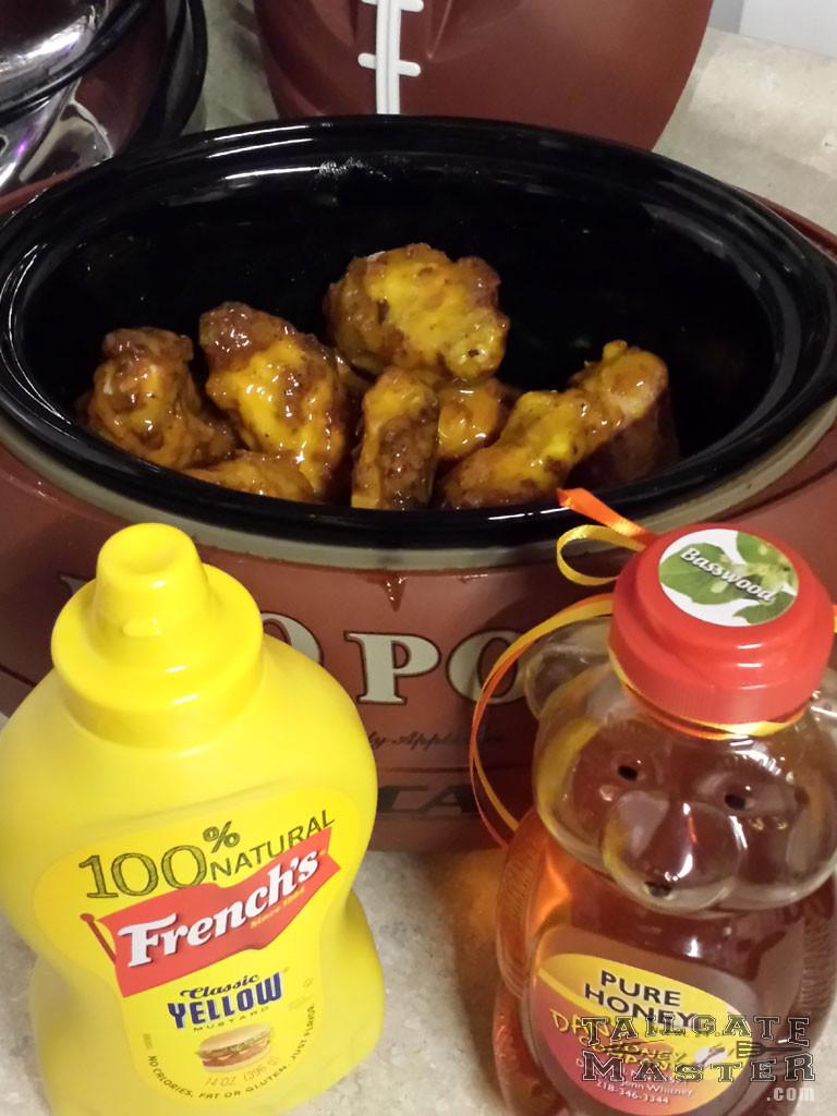 honey mustard wings