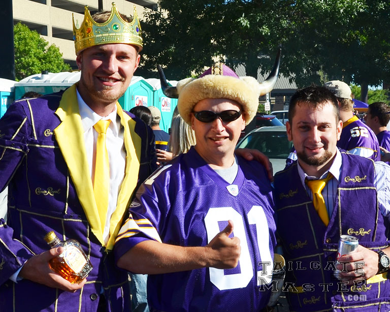 Crown Royal tailgating vikings home awesome tailgate talegate master