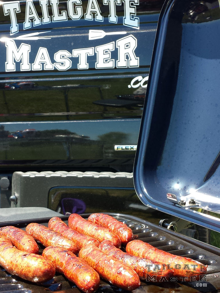 tailgating grill at the stadium