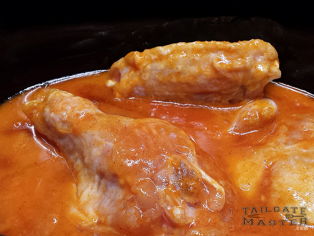 cooking wings in the crock pot