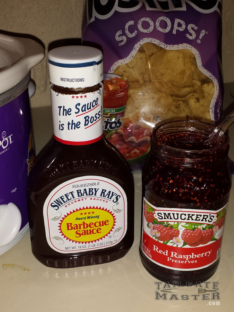 sweet baby rays bbq sauce smuckers rapberry preserves