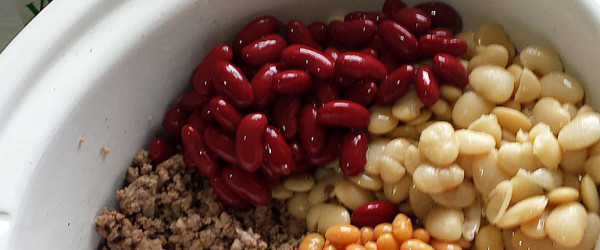 Pork and Beans, Kidney Beans and Butter Beans