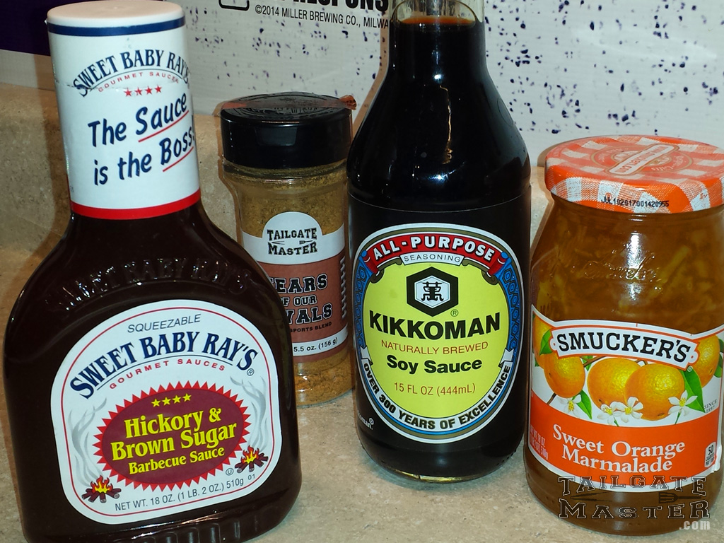 Sweet Baby Ray S Hickory And Bronw Sugar Barbecue Sauce Kikoman Soysauce Sweet Orange Marmalade Smuckers