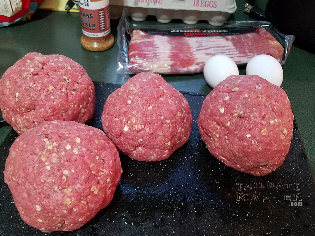3/4 pound lean ground beef burgers