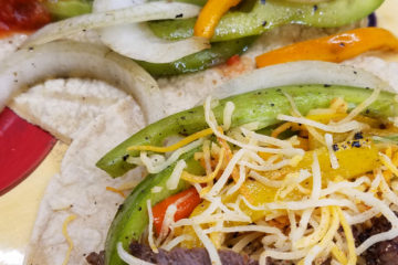 steak or chicken fajitas recipe easy