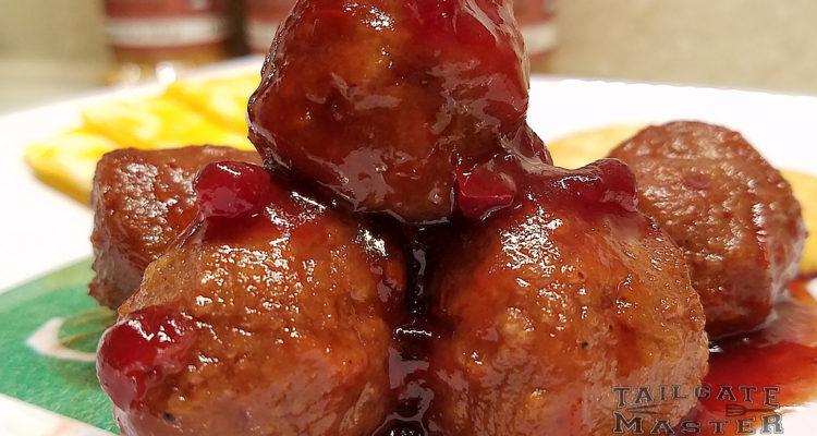 lingonberry meatballs
