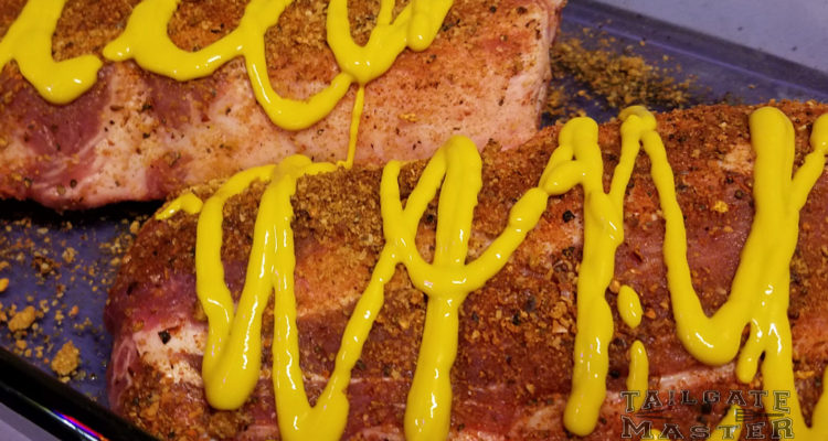 Spicy mustard ribs in the smoker easy recipe