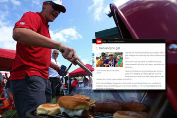 Scott Backstrom from TailgateMaster.com featured on CNN.com