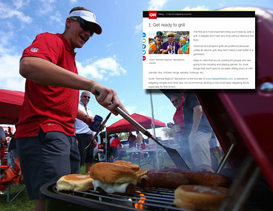 Hey we are somebody! Tailgate Master featured on CNN News