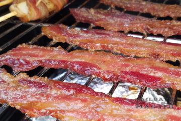 apple wood smoked candied bacon in the smoker easy recipe