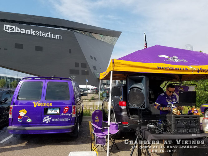 tailgating at us bank stadium dj doug e pre game party pre football game