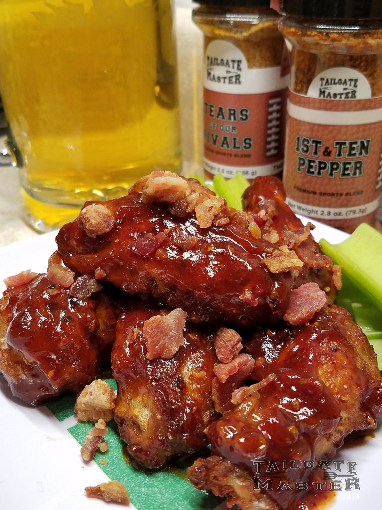 bacon and pineapple wings hot wing that are sweet and tasty recipe
