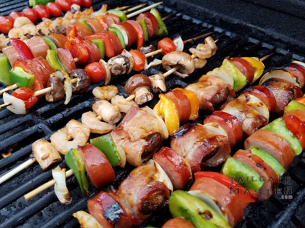kabobs on the grill easy recipe