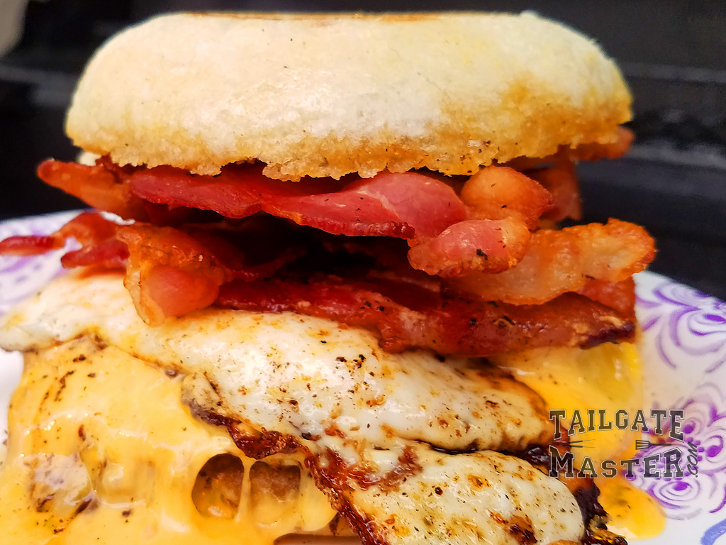 Ultimate Tailgating Breakfast Sandwiches