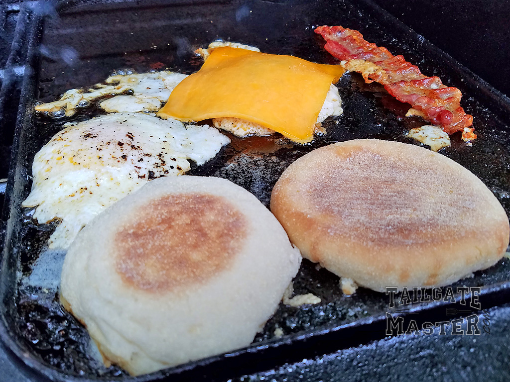 essential bacon egg and cheese sammys made with real bacon