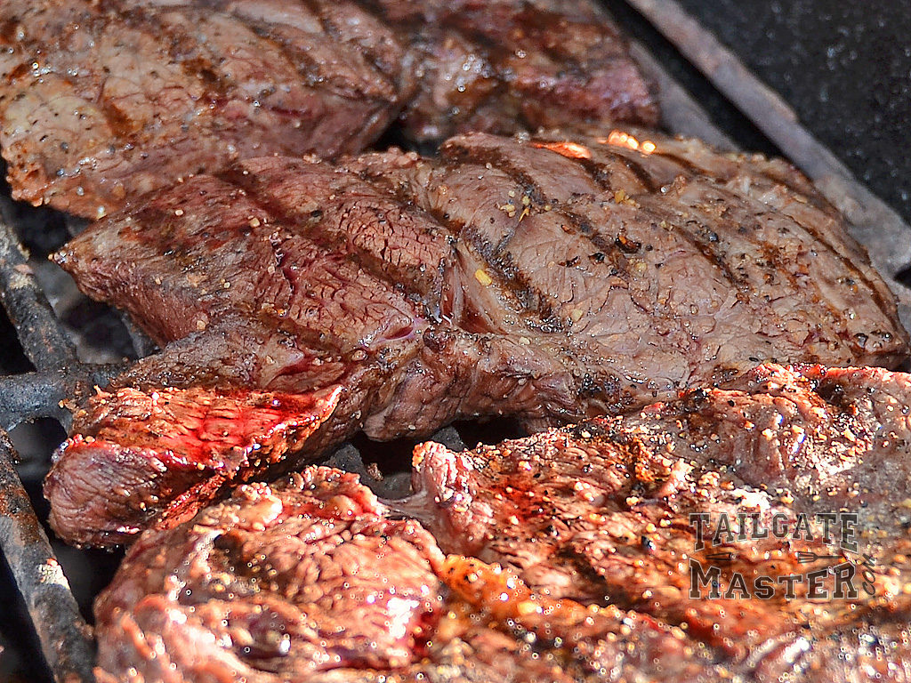 grilling low and slow makes for tender grilling steaks