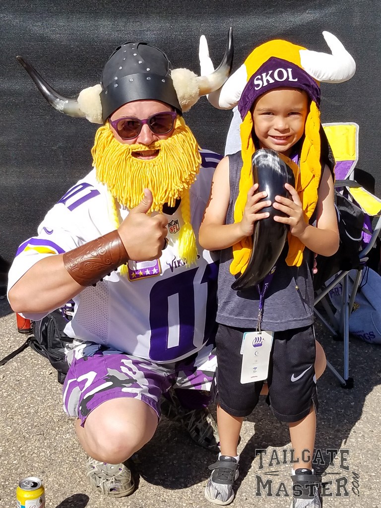 Vikings Fans are super fans !