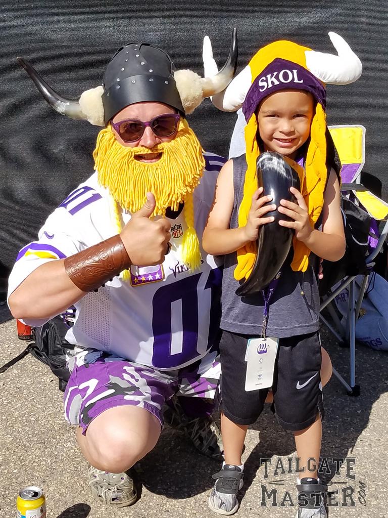 Vikings Fans are super fans !