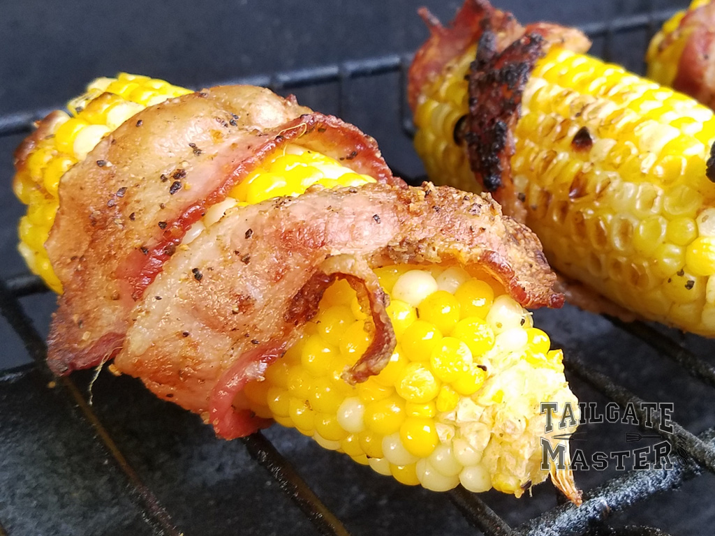 How long do you cook corn on the cob on the grill... until it is crisp like in the photo.