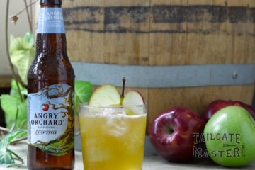 Orchard's Harvest hard cider tailgating drink
