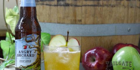 Orchard's Harvest hard cider tailgating drink