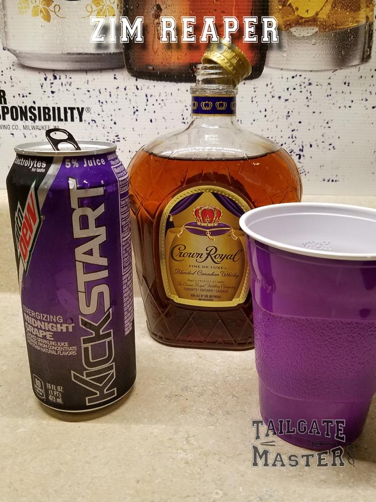 2 shots whiskey plus Kickstarter
