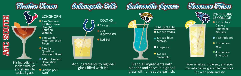 longhorn, colt 45, teal squeal, lynchburg lemonade tailgating drink recipes